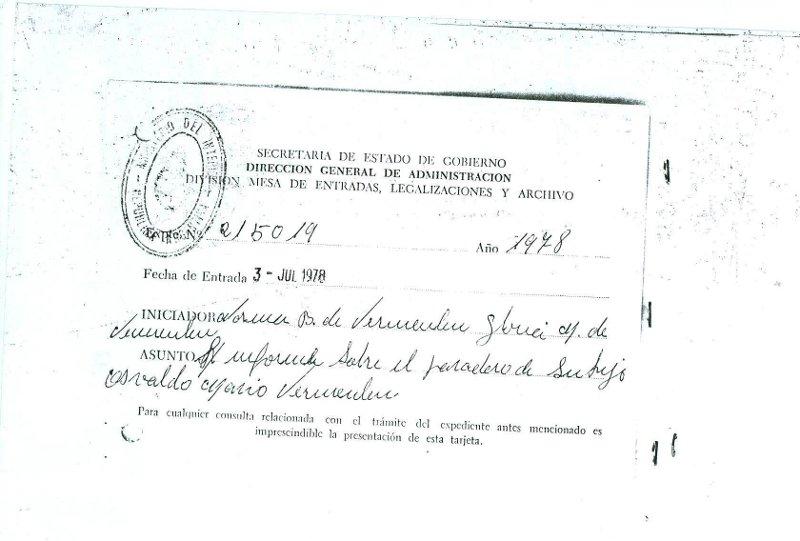 Certificado de Denuncia