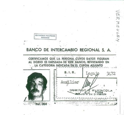 Credencial bancaria